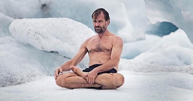 Bài tập của Wim tỏ ra có tác dụng, khiến cơ thể trở nên kém nhạy cảm với nhiệt độ.
