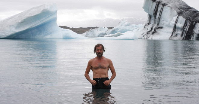 Người băng Wim Hof - người đàn ông chịu lạnh giỏi nhất thế giới.