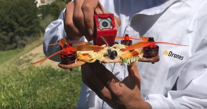 El Drone Pizza