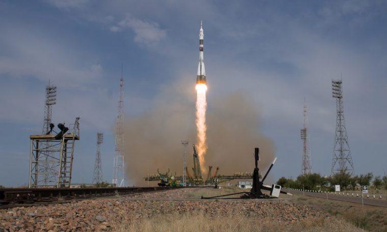 Nga phóng thành công tàu vũ trụ Soyuz MS-09.