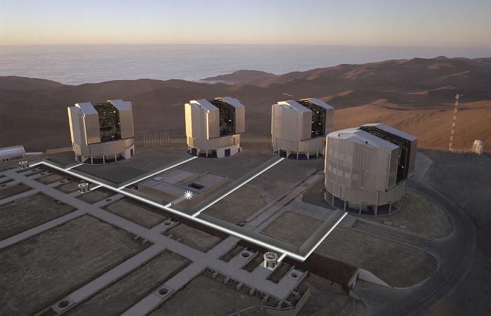 Kính thiên văn VLT