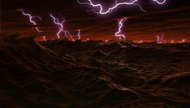Sấm sét trên sao Mộc thường tụ thành đám xung quanh 2 cực