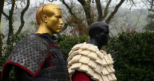 Áo giáp giấy được sử dụng ở Trung Quốc vào khoảng năm 600 TCN