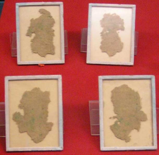 Những mảnh giấy được làm từ cây gai dầu thời nhà Hán