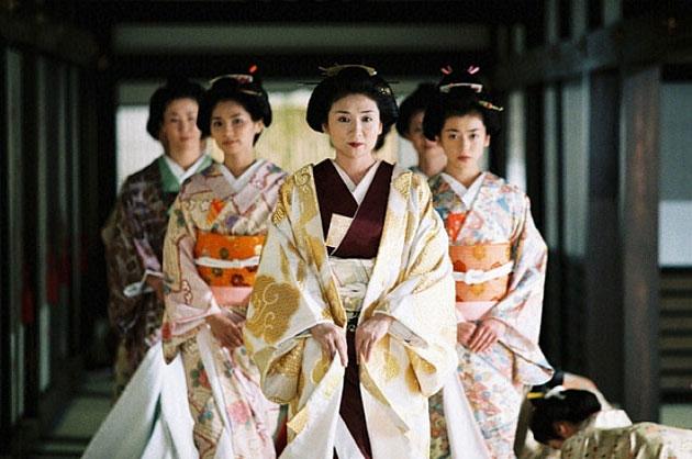 Hậu cung Nhật Bản không có quá nhiều cung tần mỹ nữ như ở Trung Hoa.