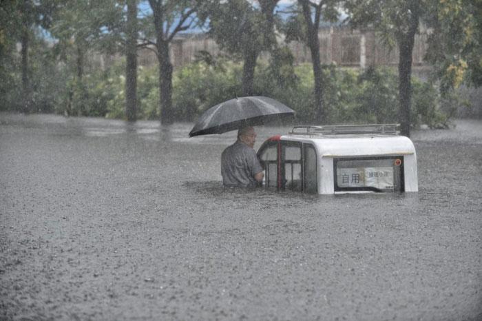 Những cơn mưa trên Trái đất ngày một nặng hạt hơn