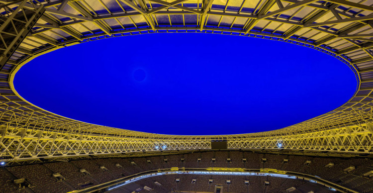 Nga đã dành 5 năm cải tạo sân vận động Luzhniki để chuẩn bị cho World Cup Nga 2018.