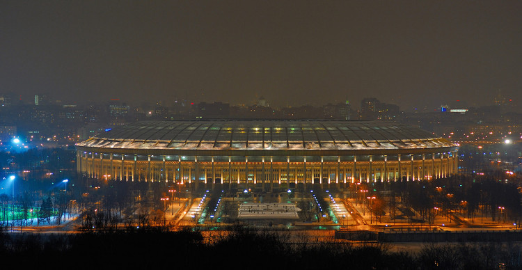 Trận đấu khai mạc World Cup 2018 sẽ diễn ra trên sân vân động Luzhniki vào 14/6.