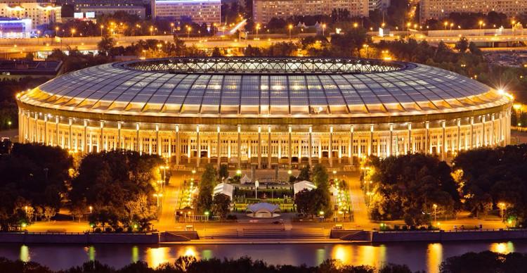 Sân vận động Luzhniki thuộc thủ đô Moskva sẽ diễn ra trận khai mạc World Cup 2018.