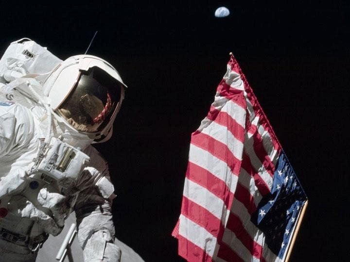 Các phi hành gia đã vô tình làm nhiệt độ của Mặt trăng tăng lên tới 6 độ F (~3.5 độ C).