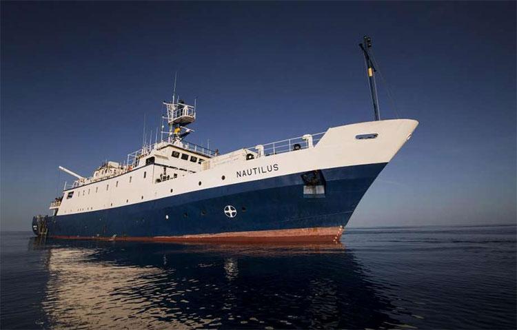 Tàu thám hiểm Nautilus của NOAA.