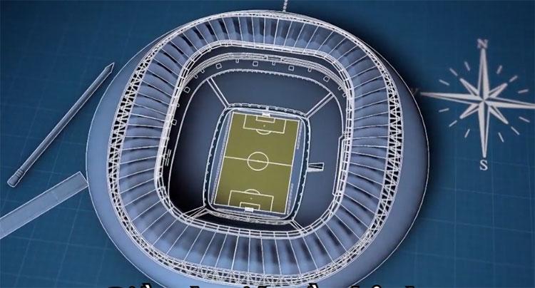 Sức chứa lý tưởng (không bắt buộc) của sân vận động World Cup là 80.000 chỗ ngồi.