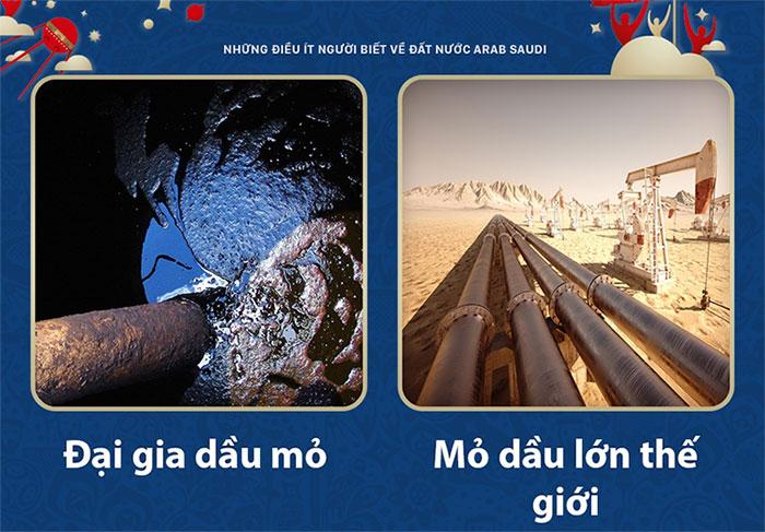 """Đại gia dầu mỏ """"khủng"""" nhất thế giới"""