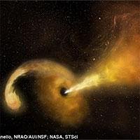 Bắt gặp cảnh tượng siêu hiếm trong vũ trụ: Hố đen siêu khổng lồ đang nuốt chửng một ngôi sao