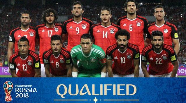 Sophia chúc đội tuyển Ai Cập gặp nhiều may mắn tại World Cup 2018.