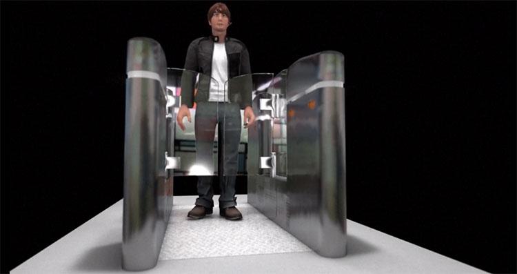 An ninh cũng được thắt chặt tại hệ thống tàu điện ngầm.