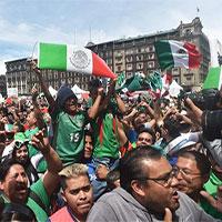 Động đất xảy ra ở Mexico chỉ vì fan nhảy lên ăn mừng bàn vào lưới tuyển Đức