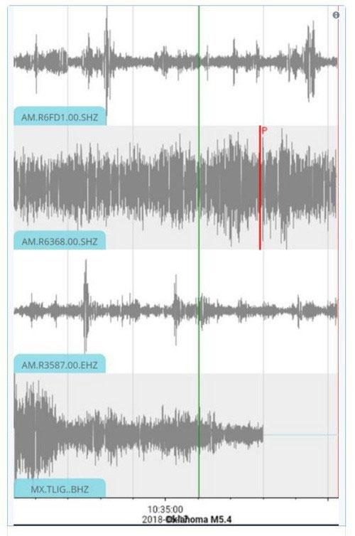Trận động đất này có lẽ là do quá nhiều người nhảy lên cùng lúc khi cầu thủ Mexico ghi bàn.