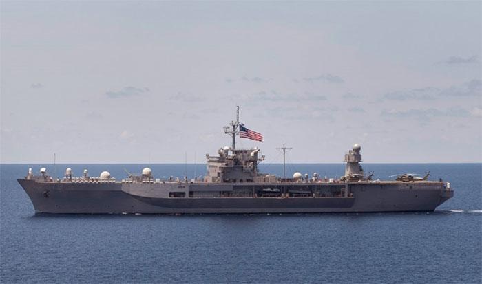 Tàu chỉ huy lớp Blue Ridge
