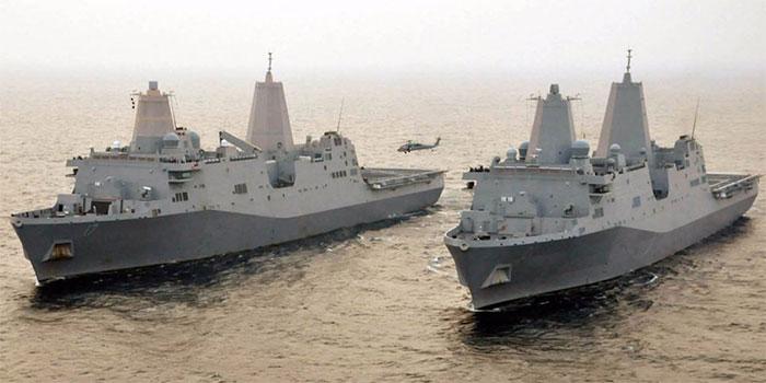 Tàu đổ bộ có sàn đáp cho trực thăng lớp San Antonio.