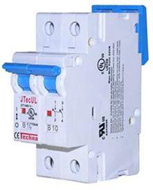 Cầu chì tự động (CB) có cơ cấu ngắt điện bằng điện từ.