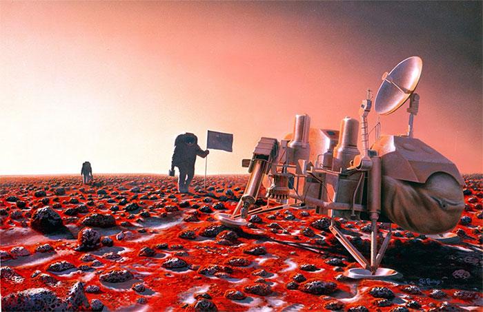 Môi trường trên sao Hỏa không giống như Trái Đất