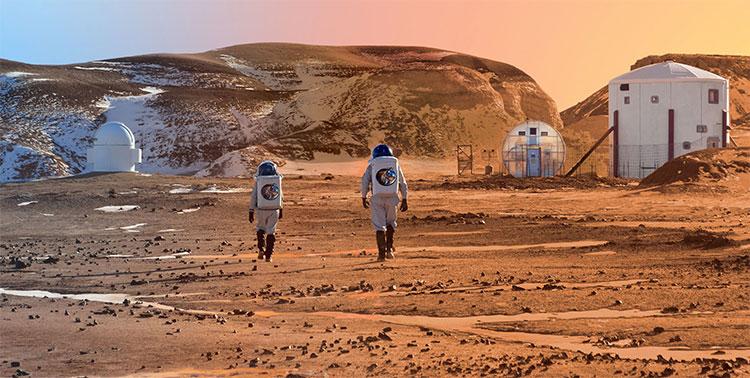 Việc định cư lâu dài trên sao Hỏa đã không còn nằm trong những tác phẩm khoa học viễn tưởng