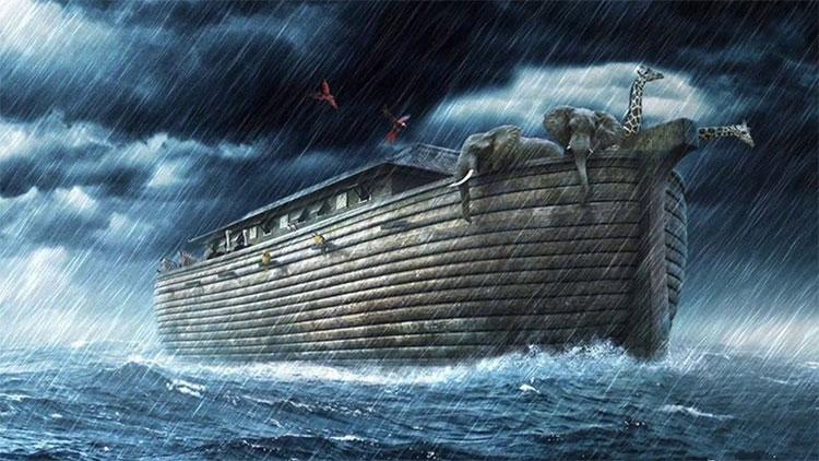 Tàu Noah trong thuyết thuyết.