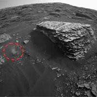 Phát hiện vật thể lạ chuyển động trên sao Hỏa