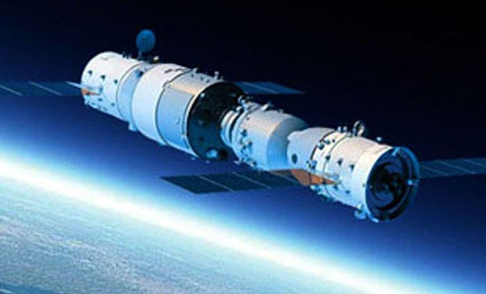 Trạm Thiên Cung 2 đang hoạt động trên quỹ đạo.
