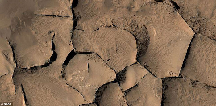 Trầm tích trên sao hỏa