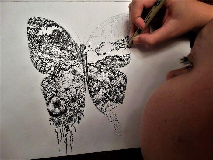 Vài năm trước, Dušan thậm chí đã vẽ minh họa cho một cuốn bách khoa toàn thư.
