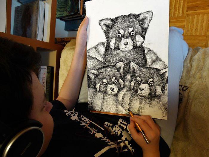 """""""Em yêu sự đa dạng của thế giới động vật, yêu khả năng thích ứng và thay đổi của nó"""", Dušan nói."""