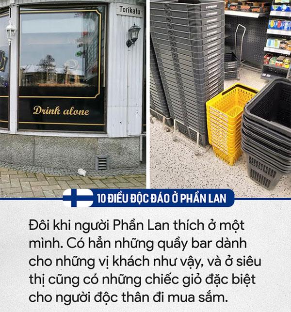 Đôi khi người Phần Lan thích ở một mình