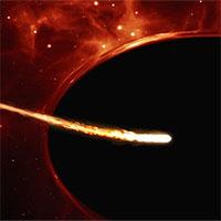 Cách chúng ta 740 triệu năm ánh sáng là một hố đen vũ trụ hoàn toàn khác biệt