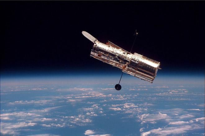 Kính viễn vọng Hubble.