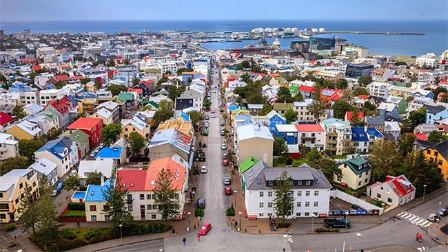 Thành phố Reykjavík của Iceland