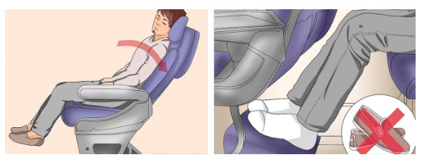 Cần giữ 1 khoảng không gian trống dưới ghế.