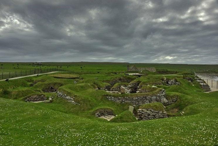 Skara Brae: Được khai quật nhờ 1 cơn dông lớn