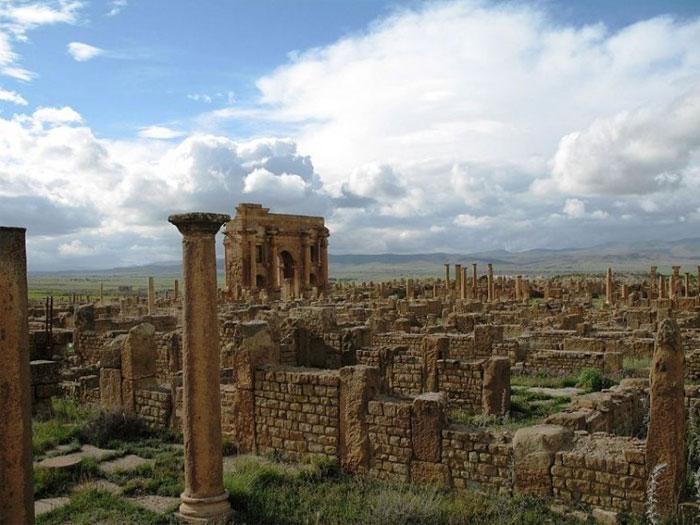 Timgad: Một thời là thành phố hưng thịnh dưới thời kỳ đô hộ của đế chế La Mã