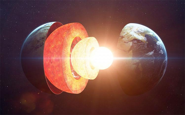 Lõi Trái Đất nguội đi sẽ kéo theo từ trường và khí quyển biến mất.