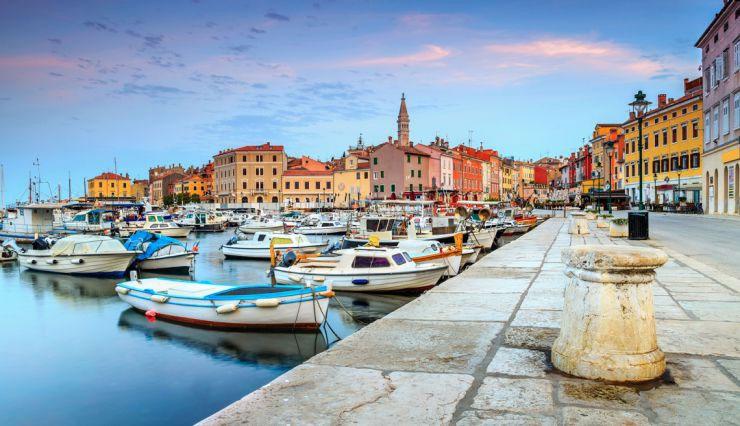 Vẻ đẹp cổ kính và bí ẩn của Croatia.