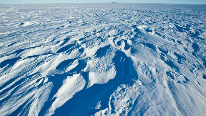 Cao nguyên phía Đông của Nam Cực là nơi ghi nhận được nhiệt độ lạnh nhất trên thế giới.