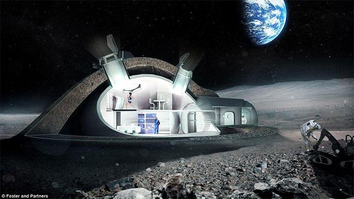 Đây là cơ sở để người và robot thăm dò mặt trăng