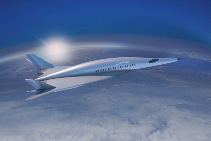 Máy bay siêu thanh của hãng sử dụng một loại động cơ đặc biệt với tên gọi ramjet.