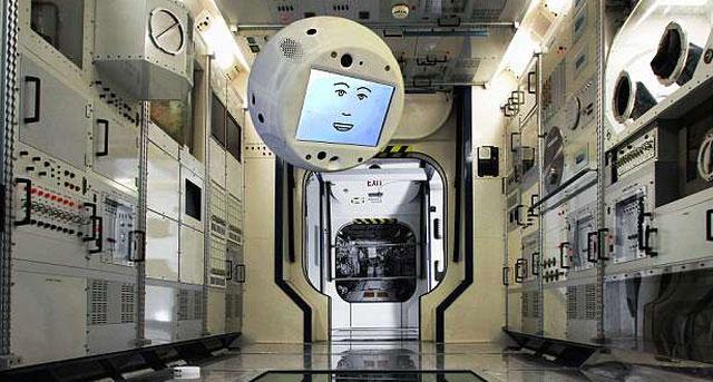 CIMON sẽ là một trong những robot hoạt động cùng phi hành gia trên ISS đầu tiên.