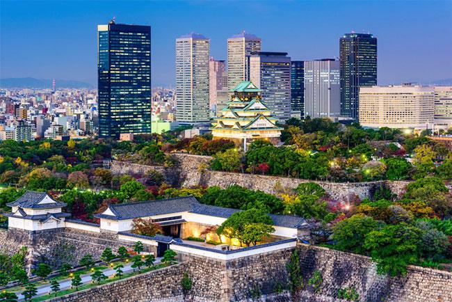 Những cơn bão dai dẳng và mưa không dứt sẽ khiến Osaka có nguy cơ bị nhấn chìm đầu tiên.