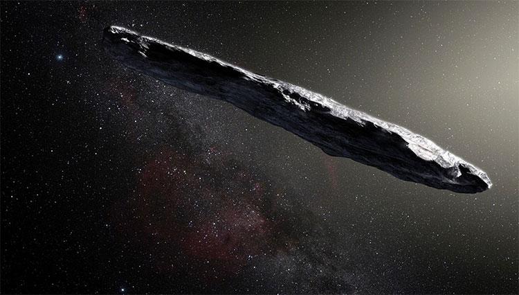 Vật thể bay, được đặt tên là 'Oumuamua.