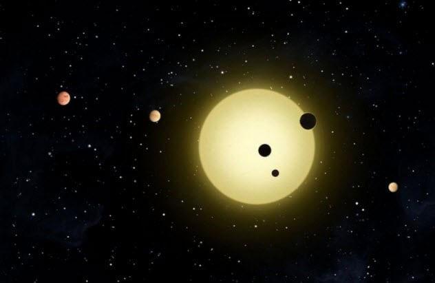 Hệ Mặt Trời kỳ lạ hơn Hệ Sao