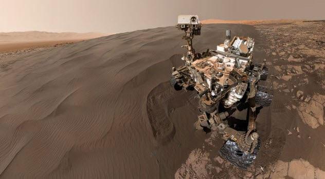 Khí methane trên sao Hỏa